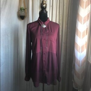Free People Crimson Coven Top